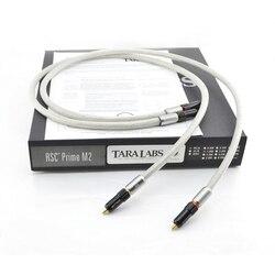 Para Tara laboratoria Prime M2 A-OF8N plecionki miedzianej tarczy HIFI kabel połączeniowy z wtyczka RCA złącze