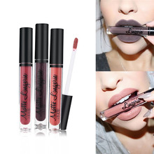 fashion Matte pro-liquid Lipstick Ultra Long Lasting Lipstick Waterproof Matte Lip Gloss Beauty Sexy Makeup Tools Moisturizer