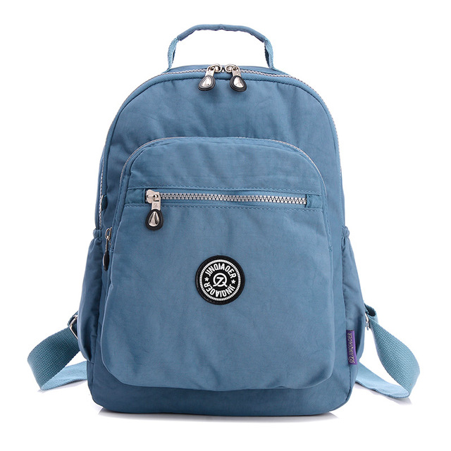 8f42f7925626 Newest Waterproof Small Backpack for Teenage Girls 16 Colors School Bag  Nylon Mini Backpacks Female Mochila