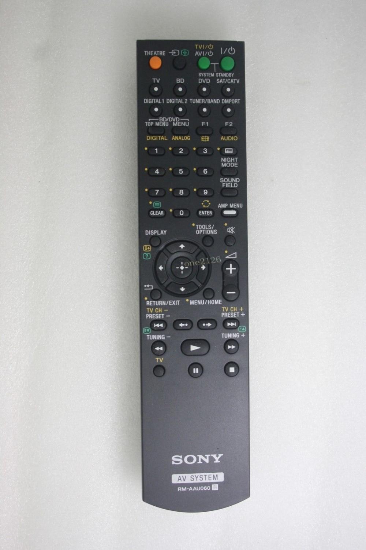 Remote Control For Sony HT DDW700 HT DDW780 RM AAU0060 AV DVD font b Home b