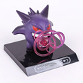 Anime Cartoon Pocket Monster Fighting Gengar PVC Figura de Colección Modelo de Juguete