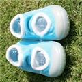 2 Par/lote Bebé Calcetines del Piso Casa Zapatos Infantiles Del Niño Zapatos de Niño de Fondo Blando Antideslizantes Calcetines Con Suela De Goma Xp30071