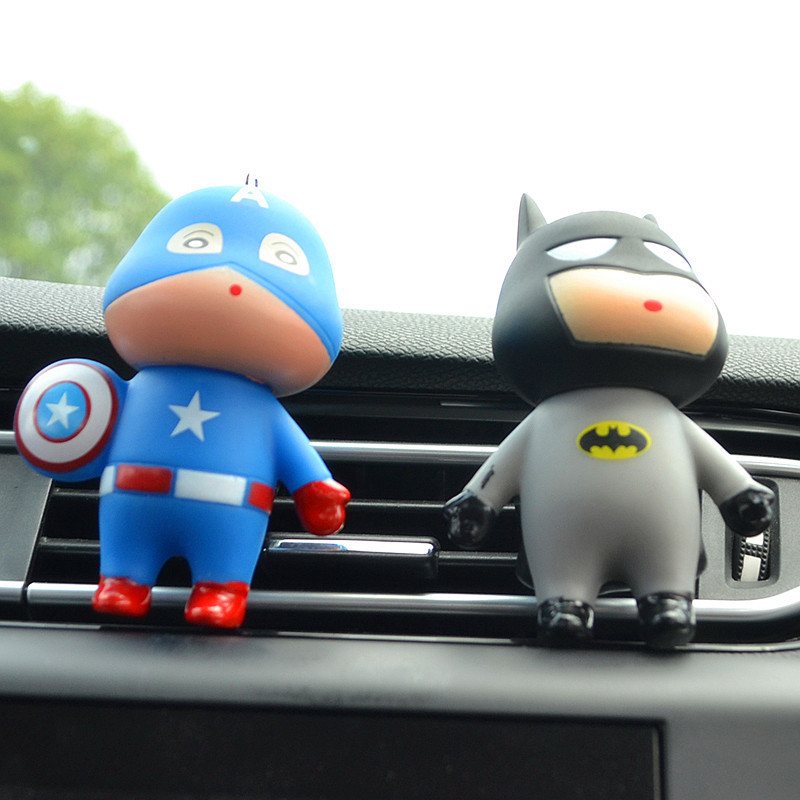 Image 5 - Car Air Freshener Automobiles Perfume Avengers Superhero Aromatherapy Clip Scent Diffuser Air Freshener In The Car Accessories-in Air Freshener from Automobiles & Motorcycles