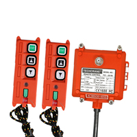 Industrial wireless remote control Switch electric hoist winch crane remote control F21 2S protective sleeve switch switches
