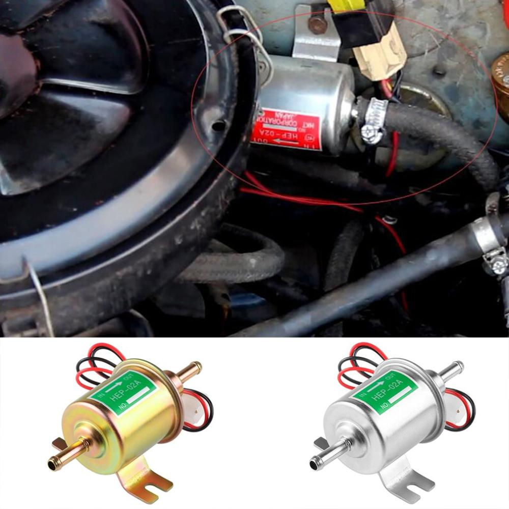 Image 4 - 12v/24v electronic pump HEP 02A automotive electronic gasoline pump Electronic fuel pump automotive diesel pump-in Fuel Pumps from Automobiles & Motorcycles