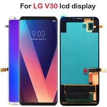 "OLED 6.0 ""LG V30 LCD H930 LCD ekran dokunmatik ekranlı sayısallaştırıcı grup ile çerçeve LG V35 LCD VS996 LS998U H933 LS998U lcd"