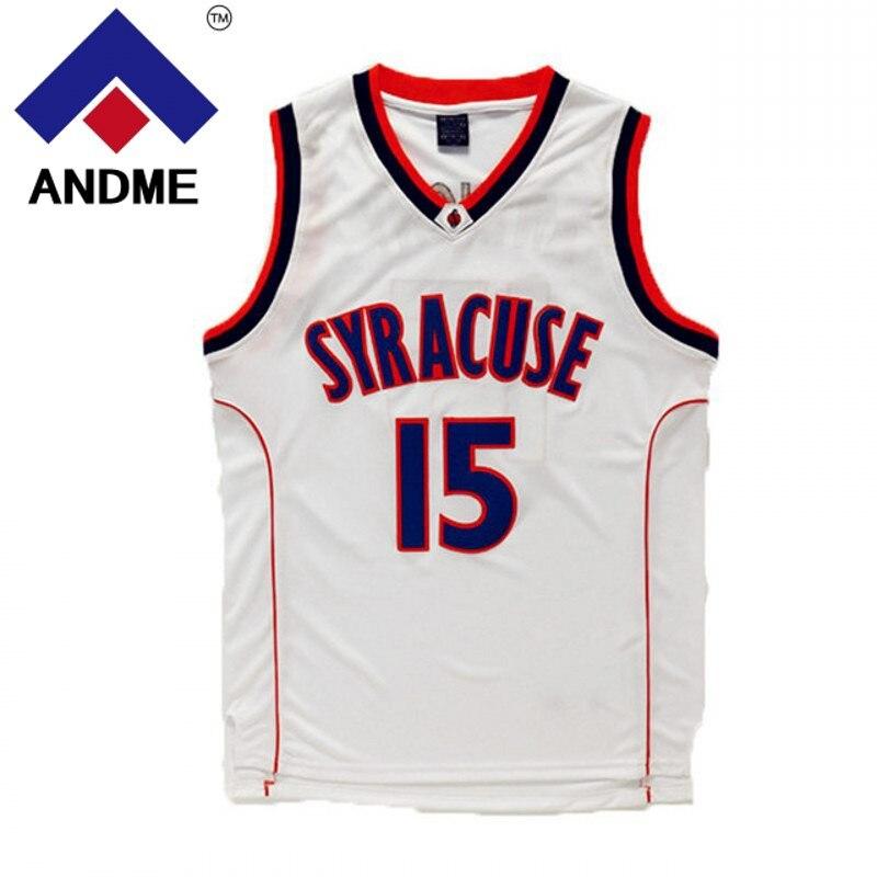 super popular bcf36 0ea3e ncaa basketball jerseys syracuse orange 15 carmelo anthony ...