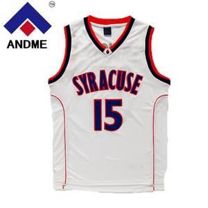 Carmelo Anthony  15 Syracuse Orangemen bule white Orange College Men  Basketball 951068490