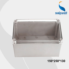 150*250*130 mm Size IP66  Clear Cover Waterproof plastic distribution box/Waterproof Enclosures With CE Approval (DS-AT-1525-1)