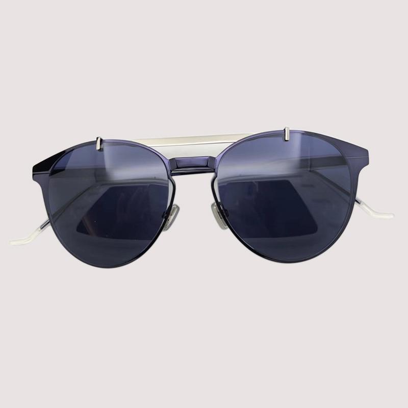 2019 Metal Oval Sunglasses Women Mirror Classic Retro Vintage Shades Eyewear Women Driving Oculos De Sol UV400