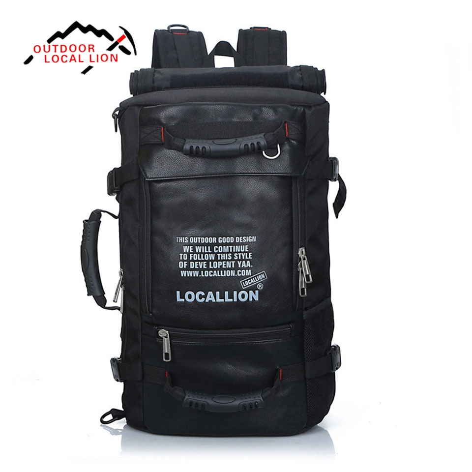 Outdoor Sport  Bag LOCAL LION 45L Large Capacity Multifunction Waterproof Bag Profession Climbing Travel Camping Hiking Backpack outdoor sport bag local lion 45l large capacity multifunction waterproof bag profession climbing travel camping hiking backpack
