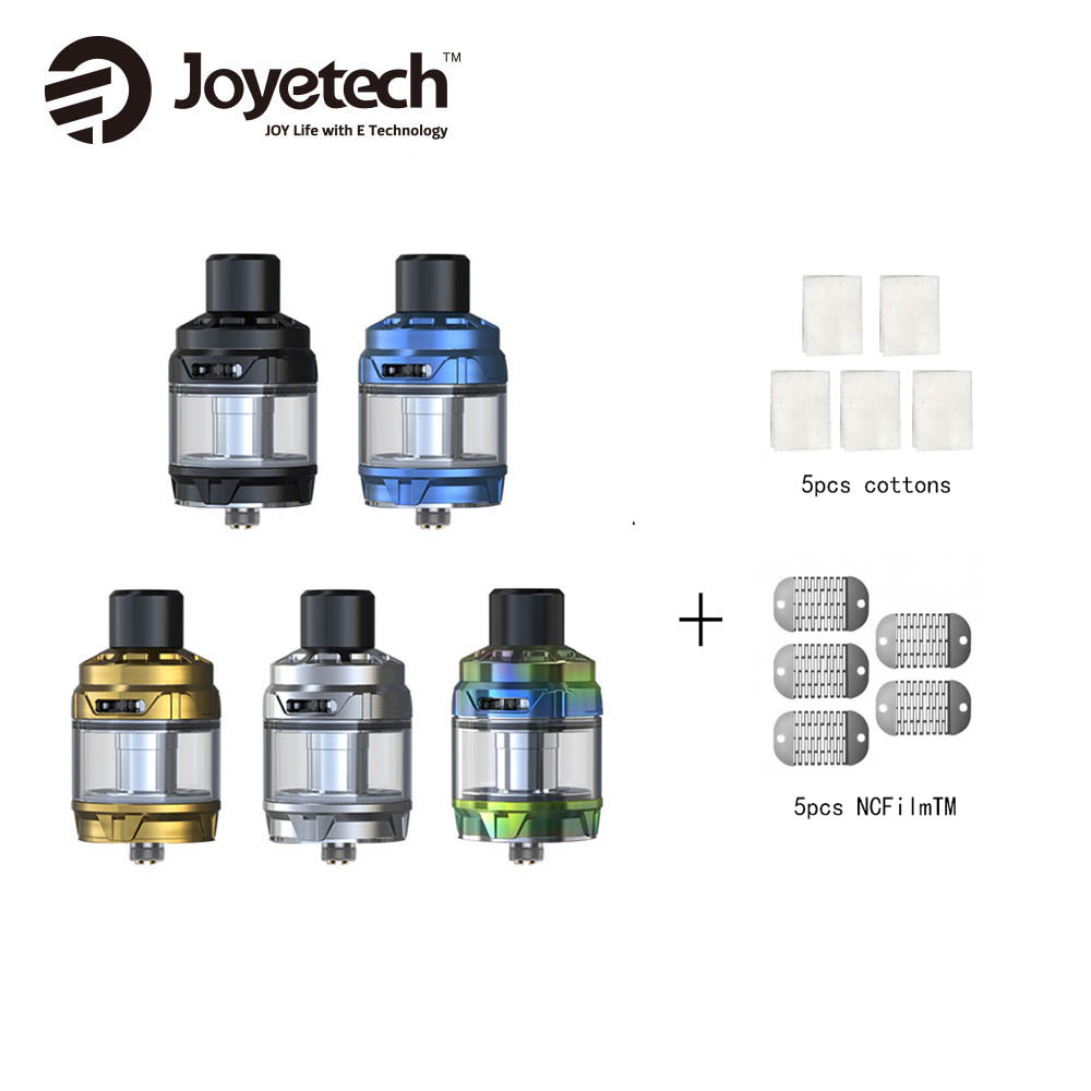 Original Joyetech Cubis Max Atomizer 5ml Vs Joyetech NCFilmTM Heater Cotton for Cubis Max Tank Vape