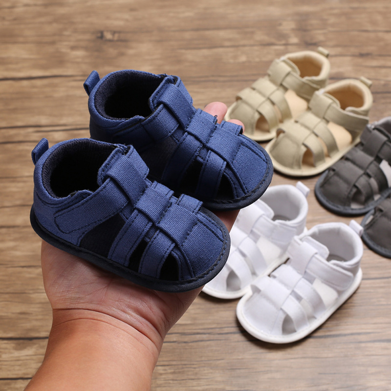 2019 New Summer Baby Boy And Girl 0-1 Years Old Foot Sandals Rubber Sole Non-slip Baby Toddler Shoes Infant Baby Sandals Gifts