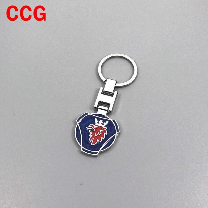Saab logo  Key Chain  mint new n387