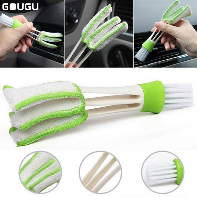 Keyboard Dust Collector Car Air-condition Cleaner Computer Clean Tools Window Leaves Blinds Cleaner Duster
