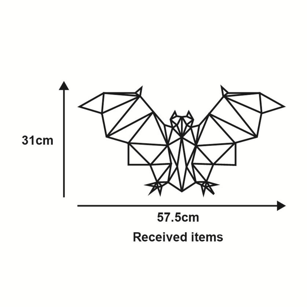 Removable geometric bat pattern vinyl wall sticker specia animal removable geometric bat pattern vinyl wall sticker specia animal design home decal in wall stickers from home garden on aliexpress alibaba group ccuart Choice Image