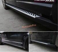 black Door body running board side runner step bar For Dodge Journey 7 seats 2013 2014