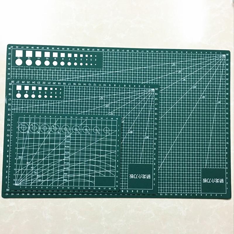 A3 / A4 / A5 PVC Schneidematte Durable selbstheilende Cut Pad - Kunst, Handwerk und Nähen - Foto 2