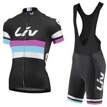 Women Cycling Wear Team Jersey Gel Pad Bike Shorts Quick Dry Pro