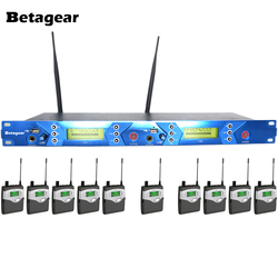 Betagear BT5012 Professional Stage Wireless Monitor System 10 Receivers UHF In-Ear Monitor & Receiver System 150M Available