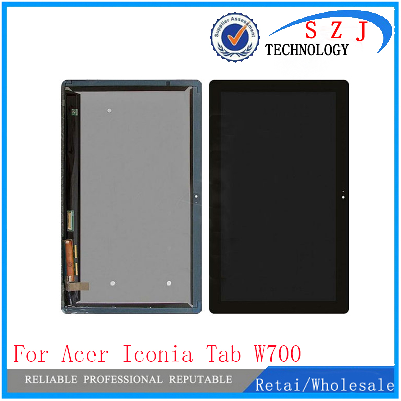 New 11.6'' inch For acer Iconia Tab W700 B116HAT03.1 Full Digitizer Touch Screen Glass LCD Display Panel Monitor lcd Assem 10 1 inch for acer iconia tab w510 27602g06iss lcd screen with touch screen digitizer assembly lcd full set new