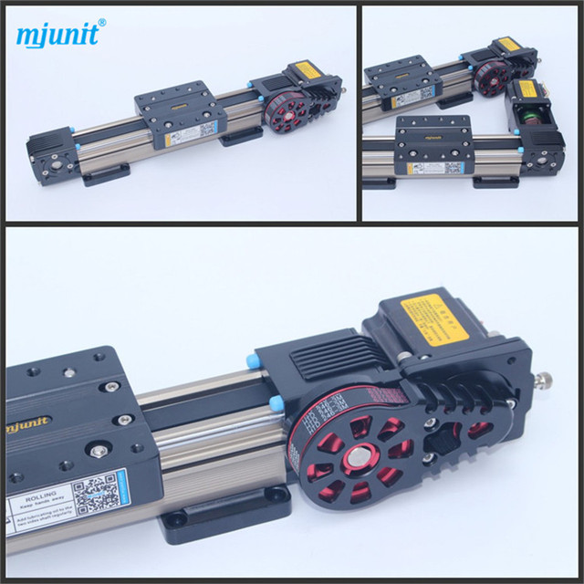 belt drive linear actuator motion stage slide high speed low