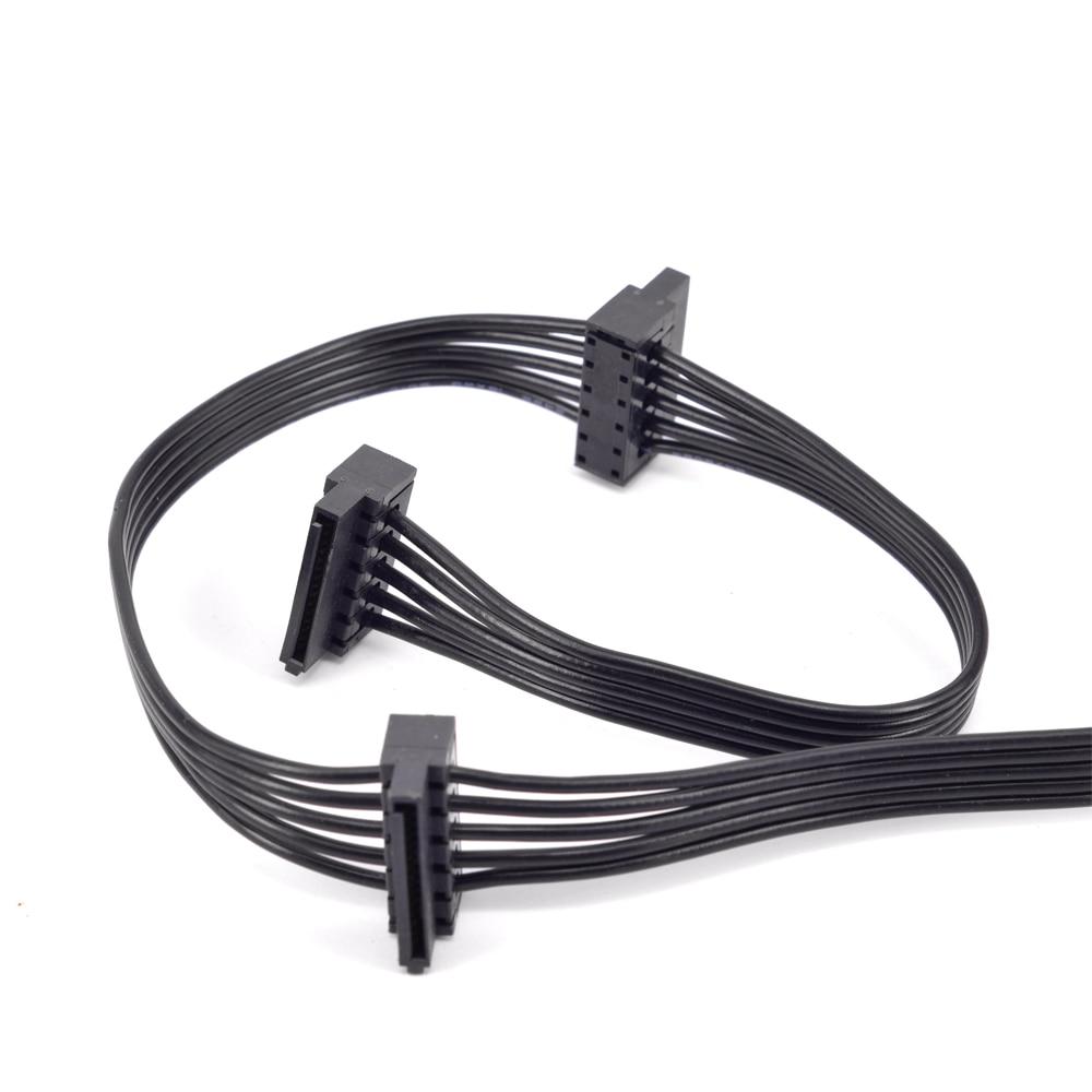 5Pin to 3 SATA Power Cable For Cooler Master V550 V650 V750 V850 V1000 V1200 PSU