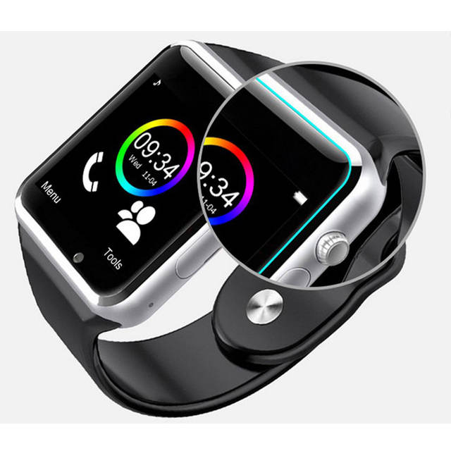 Bluetooth Square Smart Watch with Camera for Kids
