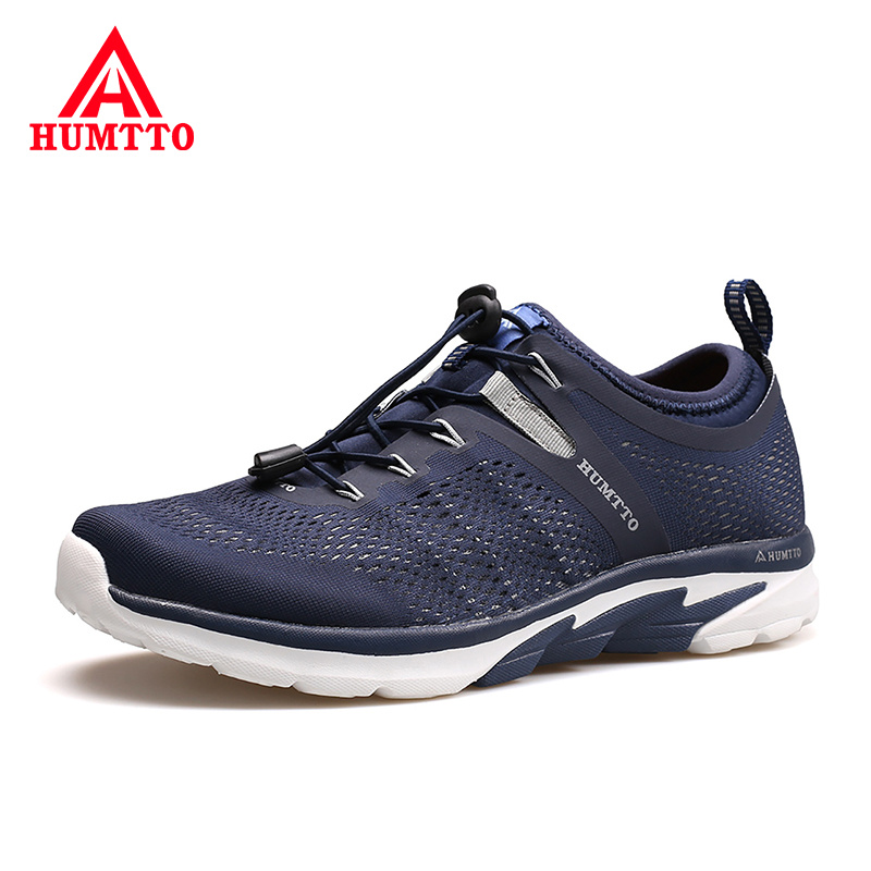 Outdoor Non slip Wear Resistant Sneakers Man Breathable Soft Running Shoes for Men Summer Light Sport
