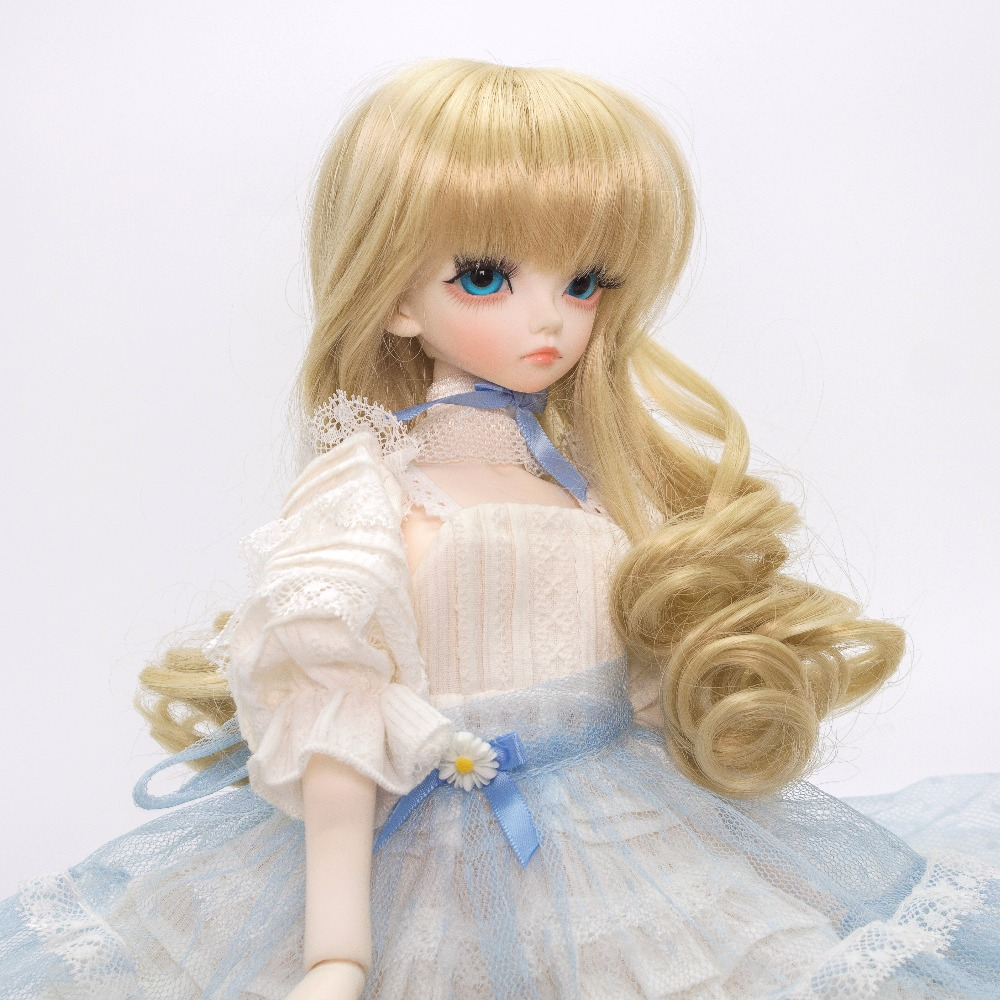 Toys & Hobbies 20cm Extension Doll Wigs Natural Color Curly Doll Hair For Dolls Wigs Accessories Russian Handmade Clothing Doll Wigs We Take Customers As Our Gods Dolls & Stuffed Toys