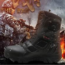 Army Boots Outdoor Men's Military Desert Tactical Boots Breathable Hiking Sport Work Safefy Shoes Climbing Shoes Ankle Men Boots men s hiking shoes outdoor sneakers anti skid hunting climbing shoes men s military tactical army shoes breathable hiking boots