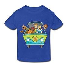 Cheap Shirts Graphic Crew Neck Short Sleeve  Toddler Scooby Doo Family Mens Tees