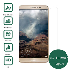 For Huawei Mate 9 Tempered Glass Display Protector 2.5 9h Security Protecting Movie on Mate9 Mha-L09 Mha-L29 pelicula de vidro