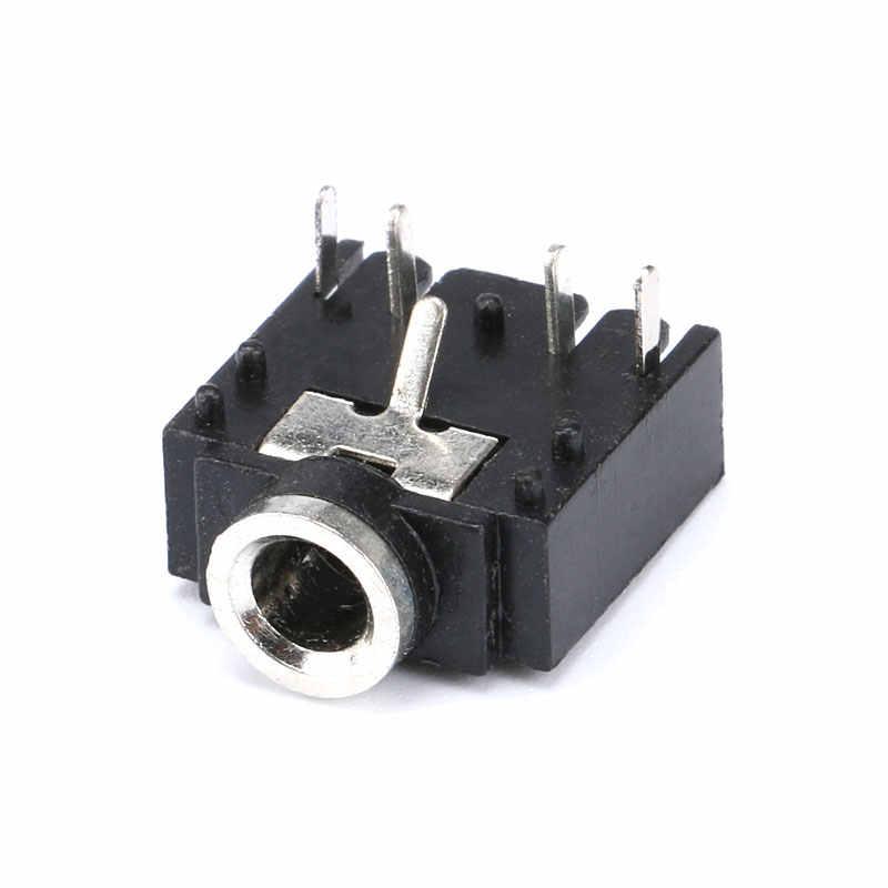 Hot 10 pièces 5 broches 3.5mm femelle Audio stéréo prise PJ-307 PJ307 3F07 prise Audio