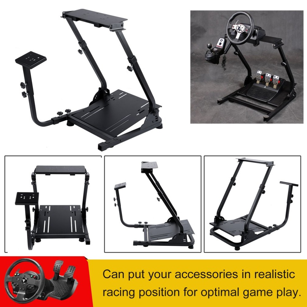 Durable Racing Steering Wheel Rack Game Steering Wheel Support Driving Gaming Wheel Stand Video Game Accessories ...