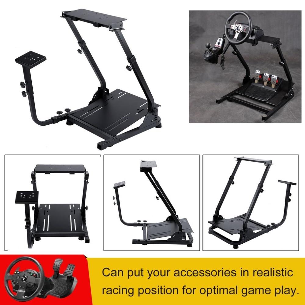 Durable Racing Steering Wheel Rack Game Steering Wheel Support Driving Gaming Wheel Stan ...