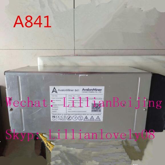 miner Avalon 841 13T SHA256 ASIC BTC Bitcoin Mining machine A841 13TH/s with psu power supply(China)