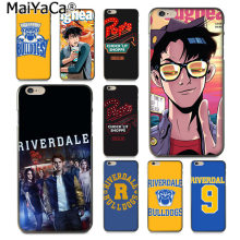 MaiYaCa TV Riverdale Luxury Phone Case cover for Apple iphone 11 pro 8 7 66S Plus X 5S SE XS XR XS MAX Cover(China)