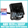 """Тип """"мини"""" FHD 1920x1080 P 2.0MP Крытый AHD Камеры Металл Безопасности Камеры ВИДЕОНАБЛЮДЕНИЯ Cam (Бесплатная доставка)"""