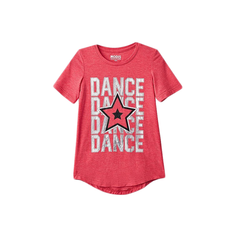 T-Shirts MODIS M182S00081 for girls kids clothes children clothes TmallFS dresses modis m182k00117 for girls kids clothes children clothes tmallfs