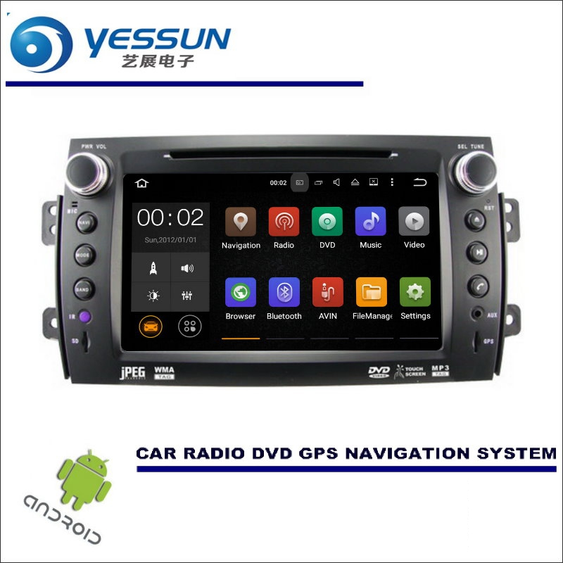 YESSUN Car Multimedia Navigation System For Suzuki SX4 2006~2014 - CD DVD GPS Player Navi Radio Stereo HD Screen Wince / Android yessun for mazda cx 5 2017 2018 android car navigation gps hd touch screen audio video radio stereo multimedia player no cd dvd