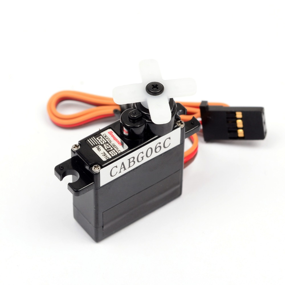 Graupner 1pcs RC Micro Best Price Servos DES 427 BB Torque 9mm Digital Servo For RC Remote Control Model best price 5pin cable for outdoor printer