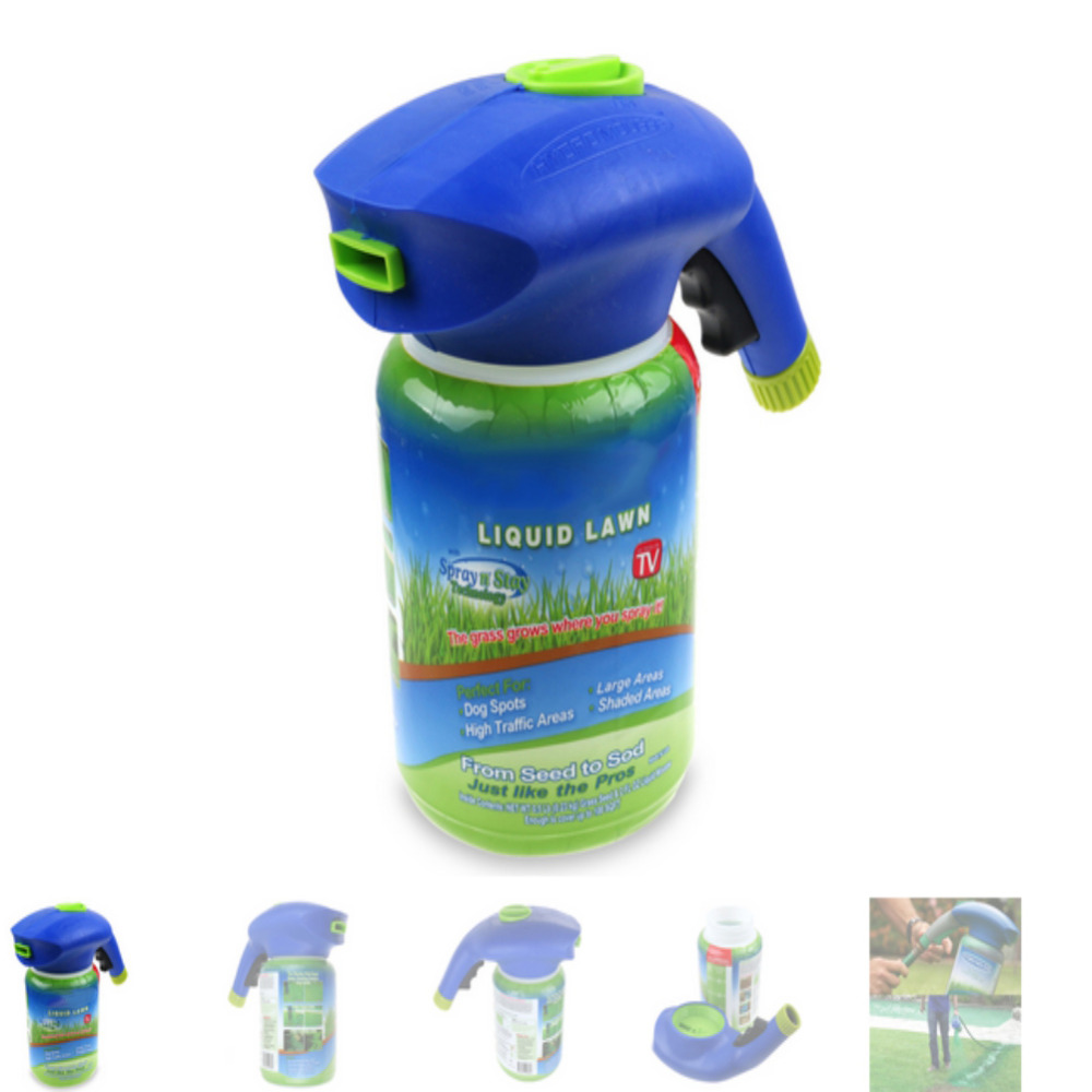 Image 3 - Professional Garden Hydro Mousse Liquid Lawn Sprayer Household Seeding System Grass Spray Device Lawn Care Garden Tools-in Water Cans from Home & Garden