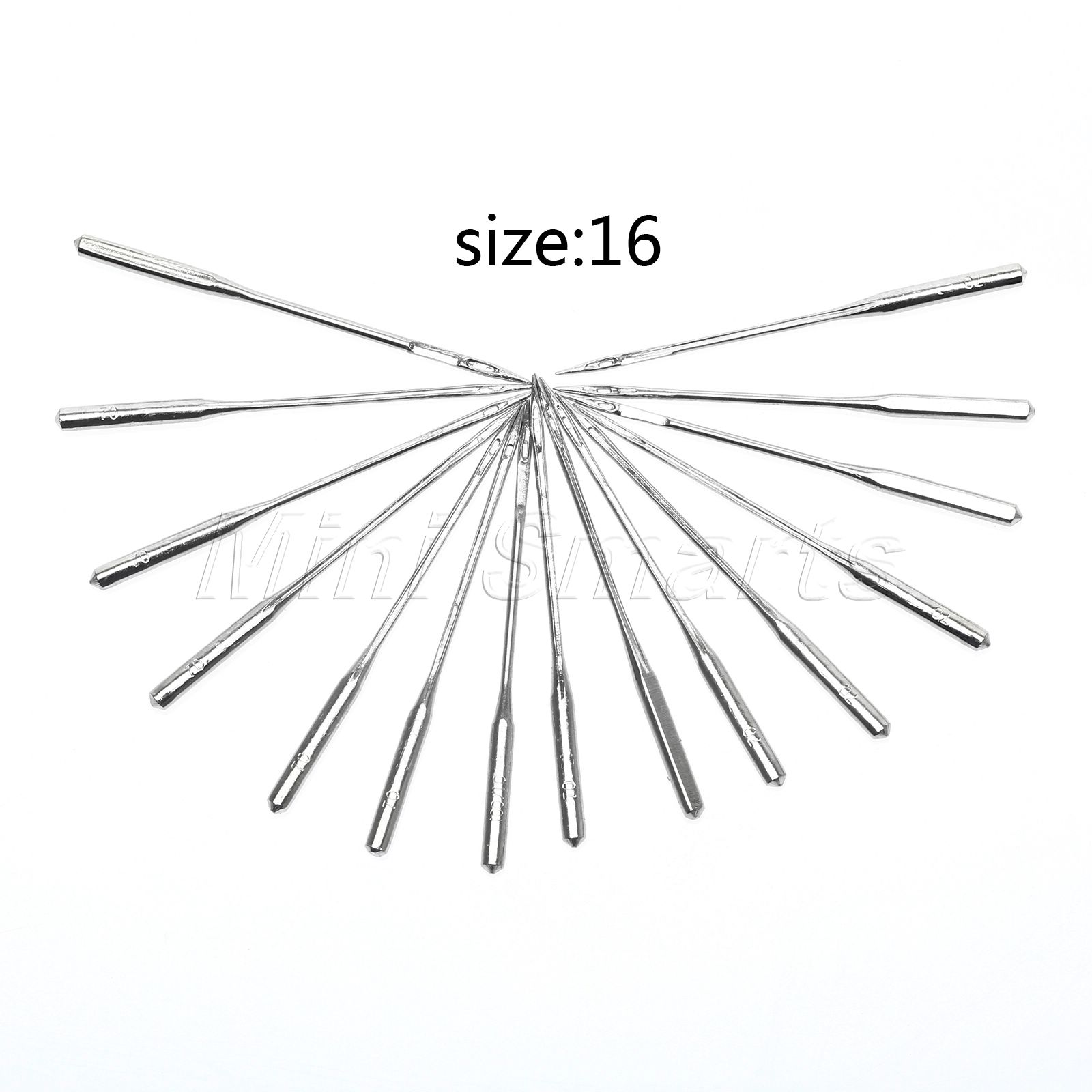10pcs Lot Size 100 16 Metal Craft Tools Accessary Home Sewing Machine Threading Diagram Needles Fit Slightly Thicker Cloth In From Garden On