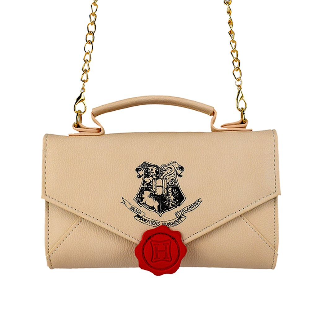 FVIP 2018 Vintage Messenger Bags Harry Potter Small Chain Women Bag PU Shoulder Crossbody Bags Bolsa for Young Lady