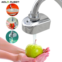 Touchless Electronic Sensor Faucet Adapter Automatic Sink Faucet Battery Power Nozzle Kitchen Faucet Sensor Water Saving