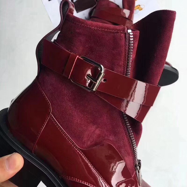 luxury designer boots women  genuine leather mid calf lady classical shoes branded fashion model really leather new arrival