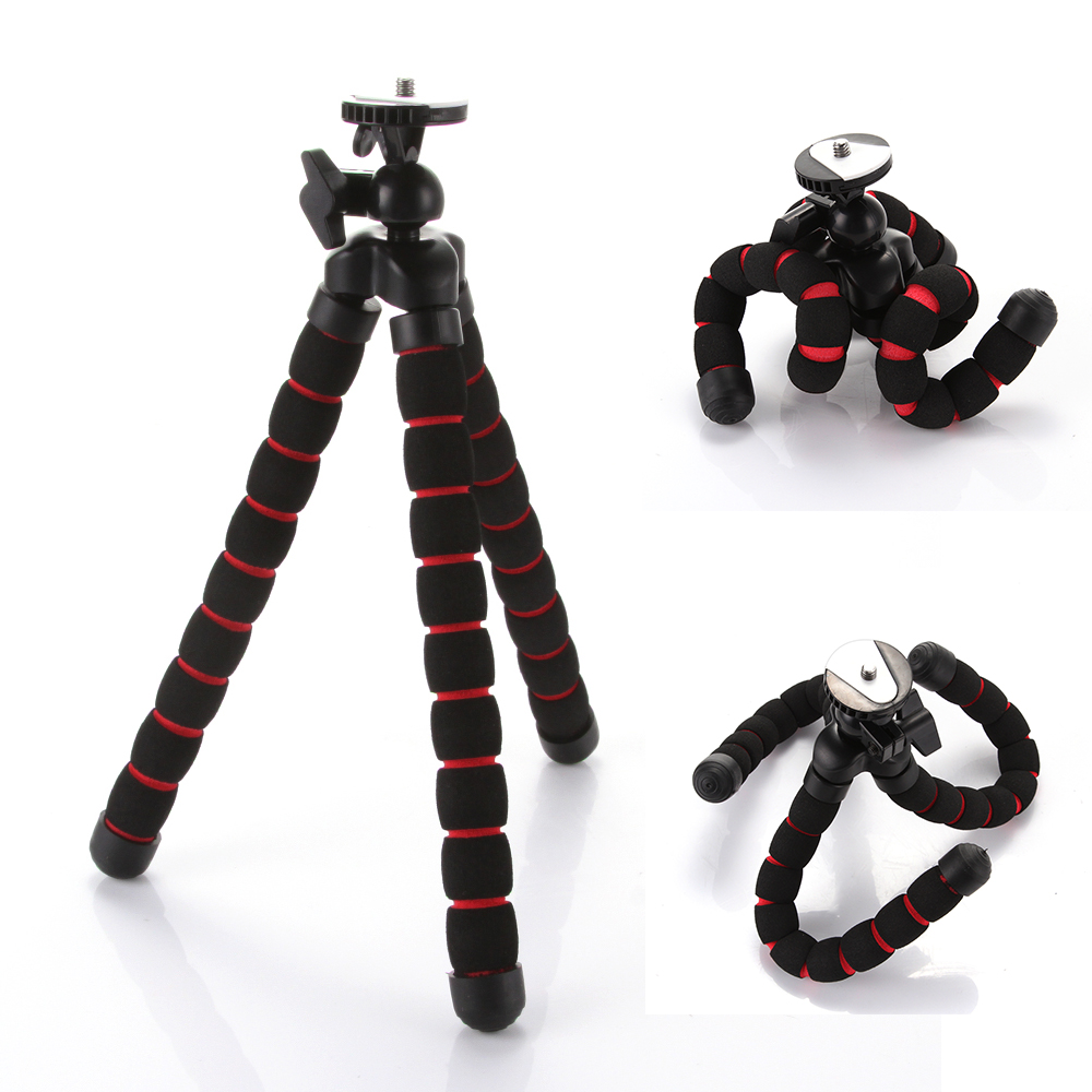 Universal Octopus Flexible Portable Camera Mini DV Tripod Gorillapod Stand for Canon Nikon цена