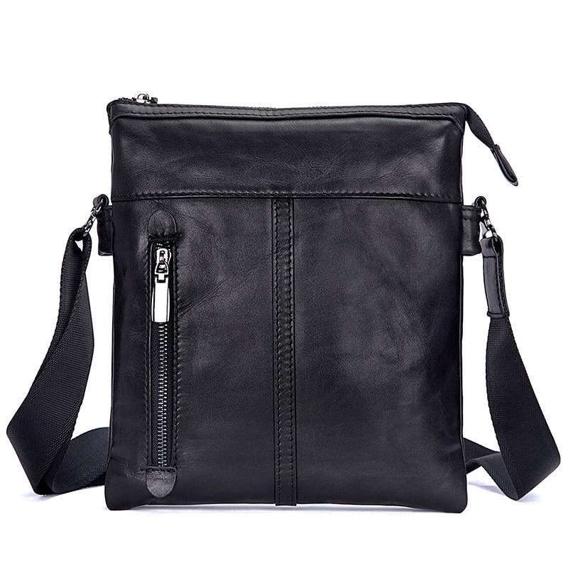 JMD 2017 Winter New Vintage Shoulder Bags For Men Genuine Leather Casual Men's Messenger Bag Cross Body Bag for 9.7 inch iPad jmd 100% guarantee genuine vintage leather women s tote shoulder bag for shopping 7271c