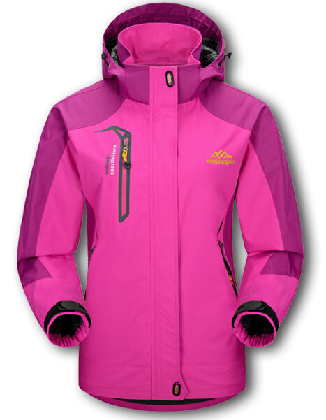 China Size M-3XL Women Jacket Waterproof Spring Autumn Jacket Hooded Zipper Women Basic Coats Windbreaker #151261